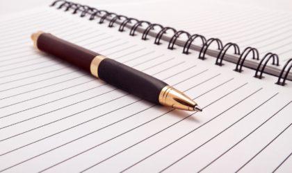 Przywłaszczony długopis